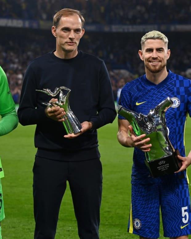 Chels UEFA awards