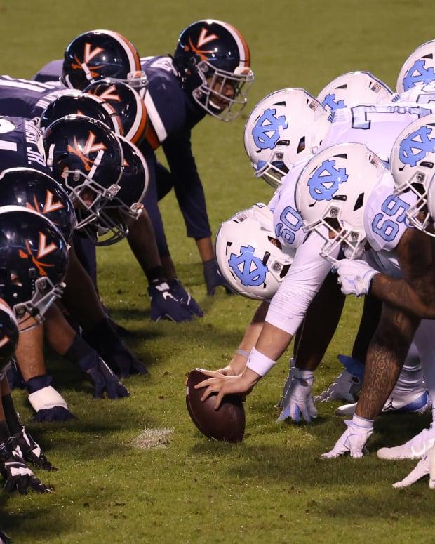 Virginia Cavaliers football vs. North Carolina Tar Heels