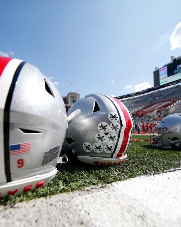 Ohio State Football Helmets