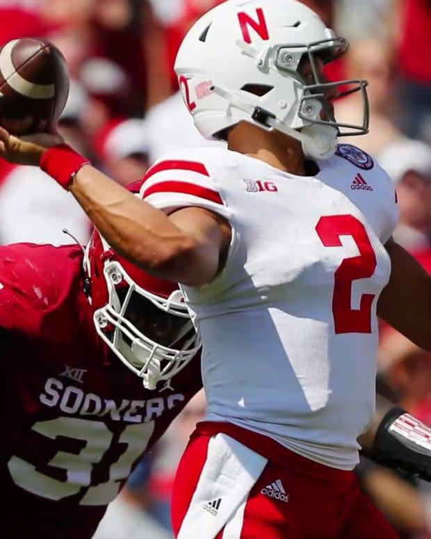 2021 Nebraska-Oklahoma football slideshow