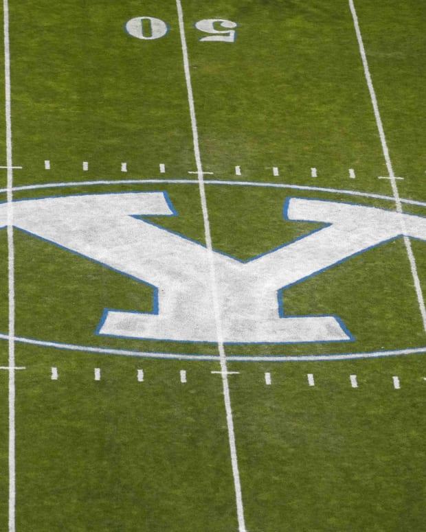 Lavell Edwards Stadium BYU vs Arizona State whiteout