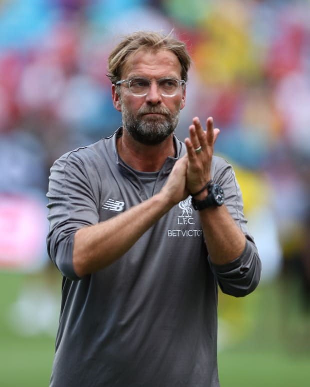 Liverpool manager Jurgen Klopp during the International Champions Cup in 2016.
