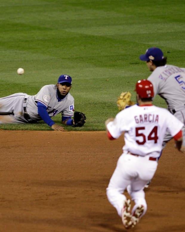 Texas Rangers / 2011 World Series / Elvis Andrus / Ian Kinsler