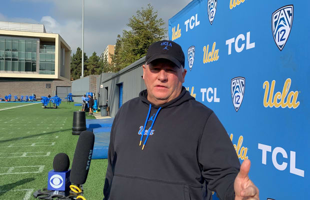 WATCH: Chip Kelly on Arizona Film Review, New Play Calling Protection Method - Sports Illustrated UCLA Bruins News, Analysis and More