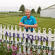 Mark Kuhn built the All Iowa Lawn Tennis Club on his family's farm. These days, it also honors his late son.