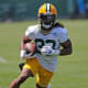 Made it (4): Aaron Jones, AJ Dillon, Kylin Hill, Patrick TaylorDidn't make it (1): Dexter WilliamsWhy: Hill, with his excellent receiving skills and incredible history of ball security, is the front-runner for the No. 3 job behind the potent one-two punch of Jones and Dillon. With a two-game suspension to open the season, tight end Sternberger won't officially be on the opening roster. So, we'll go with a fourth runner, Taylor, a three-down back at Memphis who sat out his rookie season following foot surgery. Williams, a sixth-round pick in 2019, just hasn't been good enough in the passing game to warrant another chance barring dramatic improvement.