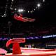 Biles at the 2015 World Gymnastics Championships.