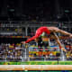 Biles competing on the balance beam at theRio 2016 Olympics.