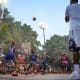 There are few basketball courts like Rucker Park in New York City. In the 1960s and '70s, future NBA legends like Earl Monroe and Julius Erving took on the city's street elite in playground director Holcombe Rucker's summer tournament.