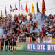 Detroit City FC plays its home games at Hamtramck's Keyworth Stadium, which the club's supporters helped rebuild.