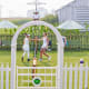 Grass tennis courts are rare in the United States, and farmer Mark Kuhn's creation is an even rarer non-private lawn.