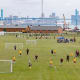 The Detroit City Futbol League, a coed adult circuit, predates the club's senior team and includes volunteering incentives that can impact the standings.