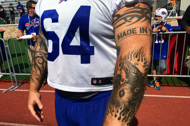 Tattoos Of The Nfl And The Stories Behind The Ink Sports Illustrated