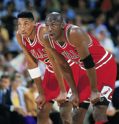 Michael Jordan And Scottie Pippen Best Si Photos Sports Illustrated