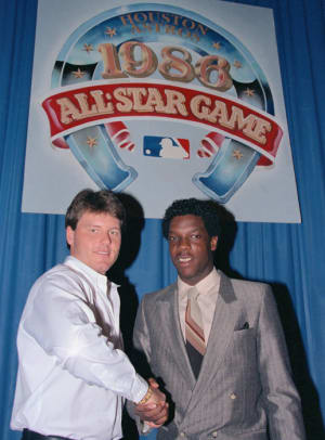 Roger Clemens and Dwight Gooden