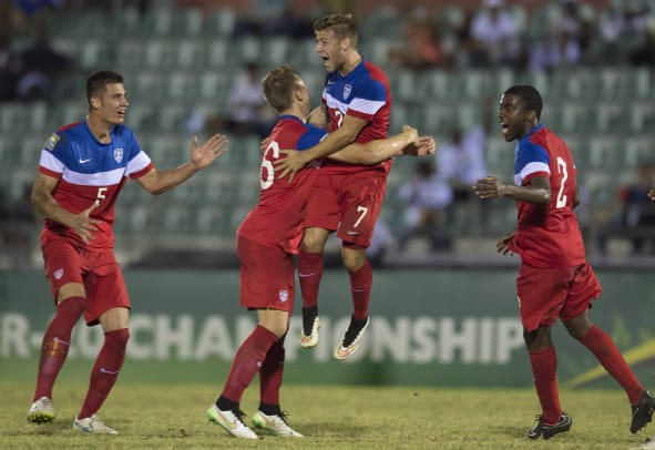 U.S. U-20 vs. El Salvador, January 24