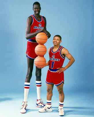 Image result for tall black basketball players