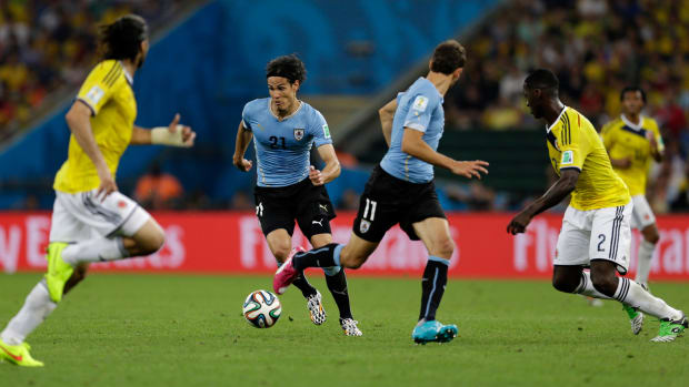 Colombia-uruguay-blue-black