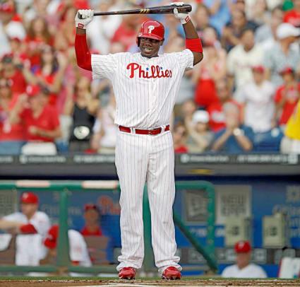 Ryan Howard, Phillies