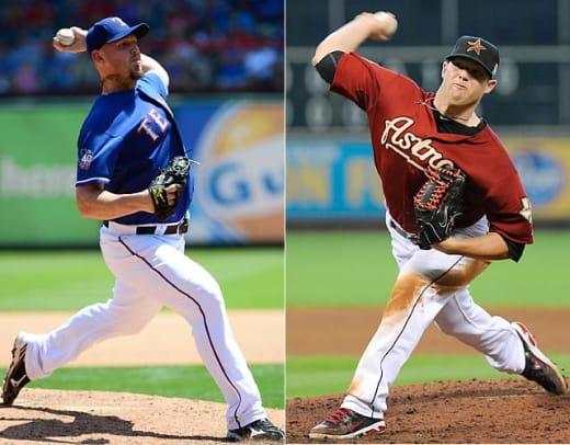 March 31: Rangers @ Astros