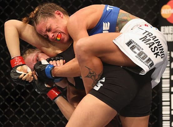 Ronda Rousey vs. Liz Carmouche