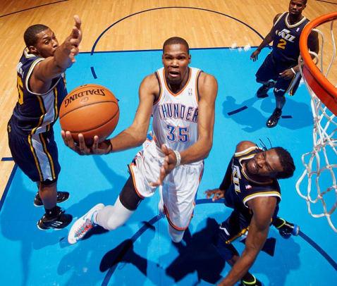 F: Kevin Durant, Oklahoma City