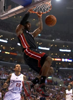 F: LeBron James, Miami