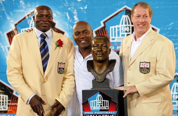 Bruce Smith, Thurman Thomas and Jim Kelly