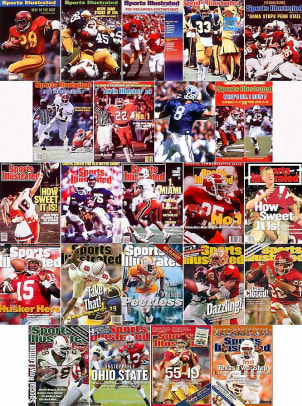 College football's undefeated national champs, 1972-present