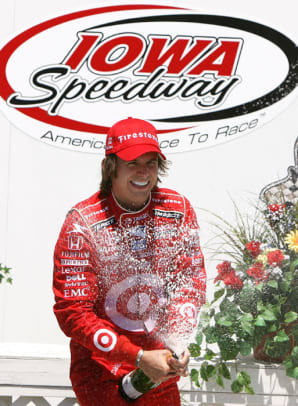 Spending his 30th birthday in Victory Lane