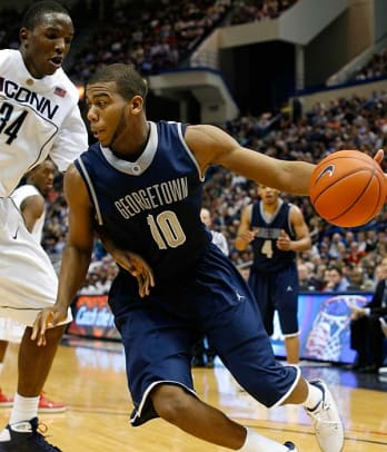 Georgetown at Notre Dame, 7 p.m., Monday, ESPN