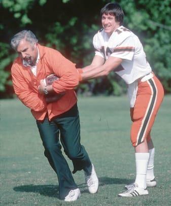 Jim Kelly and Howard Schnellenberger