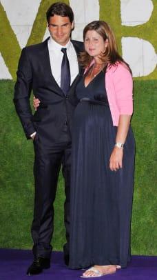 Roger and Mirka Federer