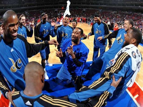 NBA benches Gilbert Arenas