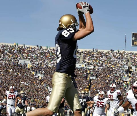 (12) Notre Dame 31, Stanford 10