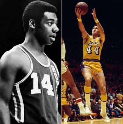 Oscar Robertson and Jerry West