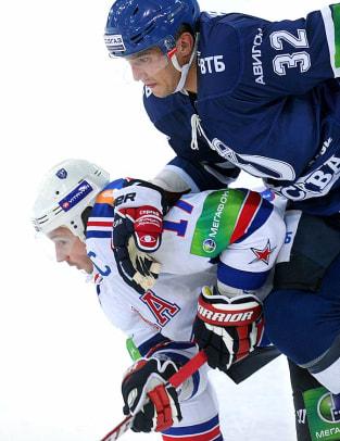 Alex Ovechkin and<br> Ilya Kovalchuk