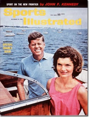 John & Jacqueline Kennedy
