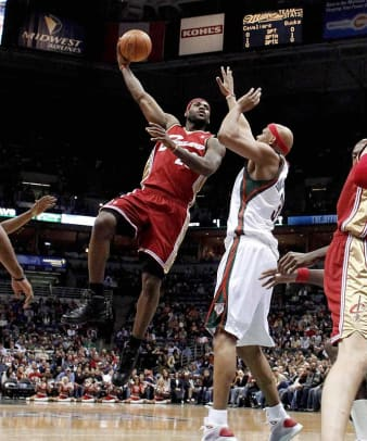 LeBron James, Cavaliers | 55 points at MIL, Feb. 20, 2009
