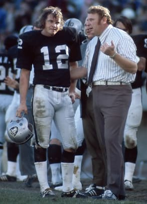 John Madden (with Kenny Stabler)