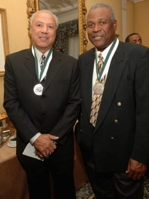 Lenny Wilkens and K. C. Jones