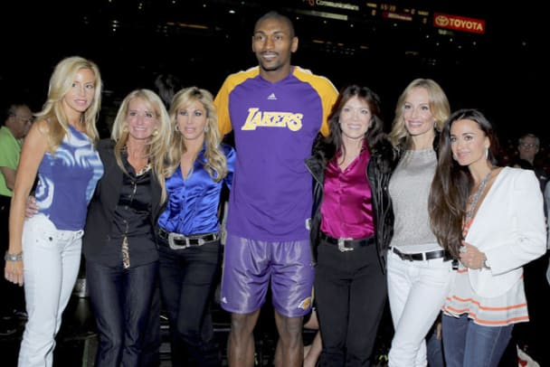 Ron Artest and Real Housewives of Beverly Hills