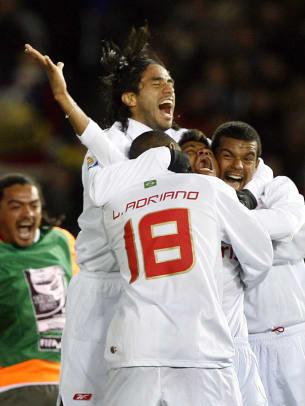 Internacional 1, Barcelona 0