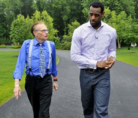 Larry King Interview