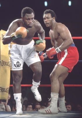 Joe Frazier and George Foreman