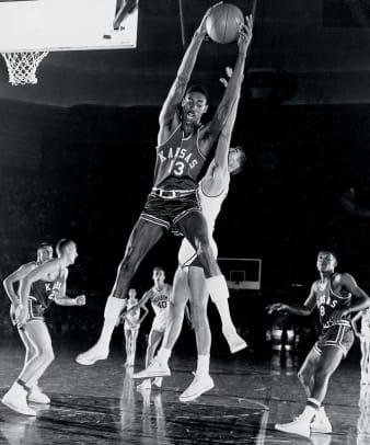 Wilt Chamberlain (Basketball, Track & Field) 1956-1958