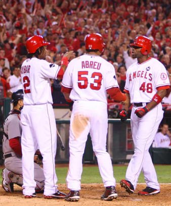 Angels 5, Red Sox 0