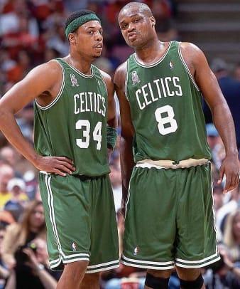 Paul Pierce & Antoine Walker, Celtics