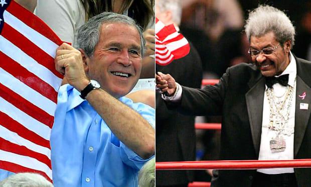 George Bush & Don King