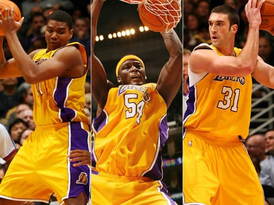 Lakers C: Andrew Bynum vs. Kwame Brown vs. Chris Mihm
